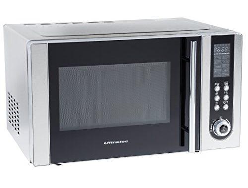 ultratec mikrowelle mwg500 mit grill und umluft 1200 watt 23 liter garraum 95 minuten timer. Black Bedroom Furniture Sets. Home Design Ideas